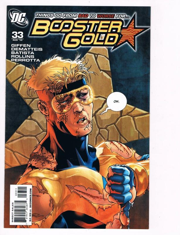 Booster Gold # 33 DC Comic Books Hi-Res Scan Modern Age Awesome Issue WOW!!!! S3