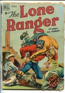 THE  LONE RANGER #18-1949-DELL-HOODED TERRORISTS-fr/good