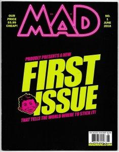 Mad Magazine #1 Star Wars | Spy vs Spy | Archie (DC, 2018) VF/NM