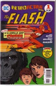 DC Retroactive: The 1970s -- The Flash #1 VF/NM, Bates/Sal Buscema, Grodd