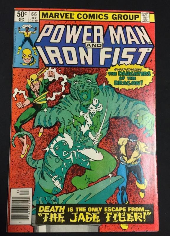 POWER MAN & IRON FIST #66, VF/NM, Luke Cage, 1974 1980, Kung-Fu, 2nd Sabretooth