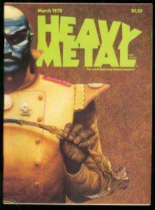 HEAVY METAL #12-MARCH 1978-CORBEN-MOEBIUS-DRUILLET--NM NM
