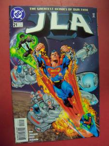 JUSTICE LEAGUE OF AMERICA  #21 VF/NM OR BETTER DC COMICS