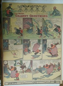 Granny Goodthing Sunday Page by Follett  from 6/5/1910 Full Page Size!