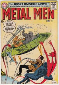 Metal Men #3 (Sep-63) FN/VF Mid-High-Grade Metal Men (Led, Tina, Tin, Gold, M...