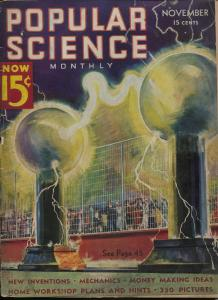 Popular Science 11/1936-Edgar F Wittmark-Popeye-pulp fun-movie stunts-G