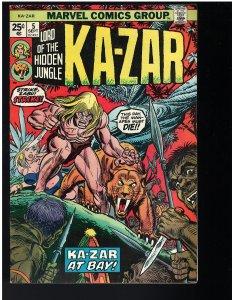 Ka-Zar #5 (1974)