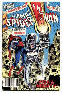 AMAZING SPIDER-MAN #237 comic book-1983-MARVEL-STILT MAN