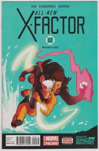 All New X-Factor #2 (VF)