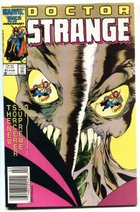 Doctor Strange #81-Last Issue-Low Print-HTF-1986 Newsstand