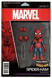 Spider-Man Annual #1 Action Figure Variant Comic Book (Marvel, 2019) NM
