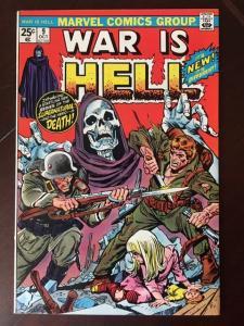 WAR IS HELL #9! VF! 1ST COMIC LADY DEATH! THANOS' LOVE!  LOW PRINT RUN