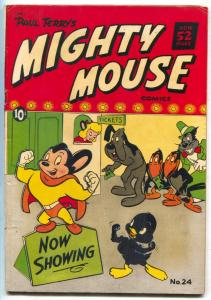 Mighty Mouse #24 1951-St John Golden Age comic FN-