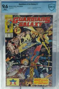 Guardians of the Galaxy #1 - CBCS 9.6 - 1st Taserface - Not CGC