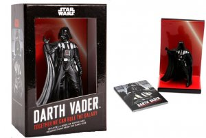 Star Wars Darth Vader In A Box Figurine & 48 Page Book (Chronicle, 2012) New!
