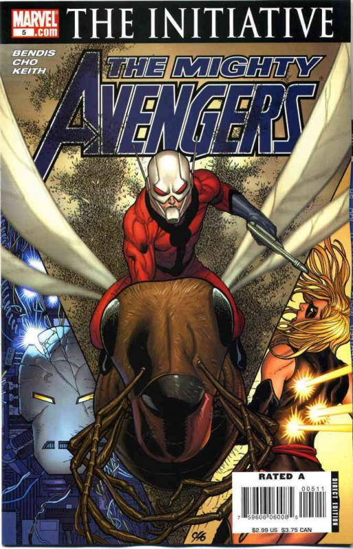 Mighty Avengers #5 VF/NM Marvel - save on shipping - details inside