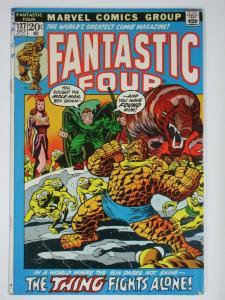 FANTASTIC FOUR 127 VG Oct. 1972 COMICS BOOK