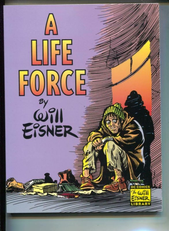A Life Force-Will Eisner-TPB-trade