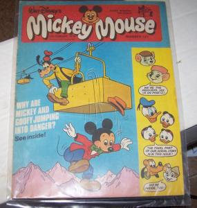 mickey mouse weekly magazine ( uk) # 121 feb 11 1978 disney donald duck goofy
