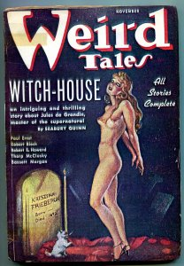 Weird Tales Pulp November 1936- Robert E Howard- Coverless reading copy