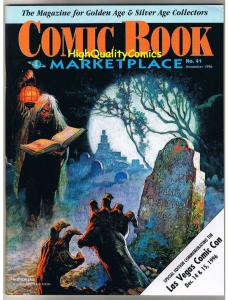 COMIC BOOK MARKETPLACE #41, VF/NM, Frank Frazetta, 1996, Las Vegas edition