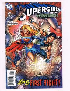 Supergirl #13 VF DC Love At First Fight Comic Book Kelly Powerboy 2007 DE10