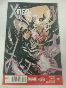 X-MEN #23 TERRY & RACHEL DODSON COVER MARCH 2015 MARVEL NM COMIC BOOK NW153