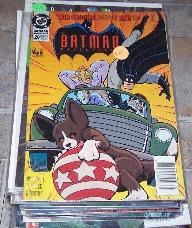 Batman Adventures #20 (May 1994, DC) animated dc tv fox