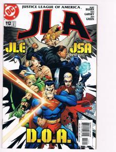 JLA # 112 DC Comic Books Awesome Issue Superman Batman Wonder Woman WOW!!!!! S24
