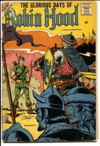 Robin Hood and His Merry Men #38 1958-Charlton-Steve Ditko art-FR/G