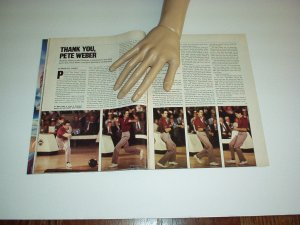 Sports Illustrated 1987 JULIUS ERVING, Pete Weber, Larry Bowa, Lloyd Honeyghan +