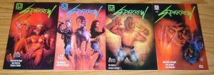 Sparrow #1-4 VF/NM complete series - millennium comics set lot 2 3