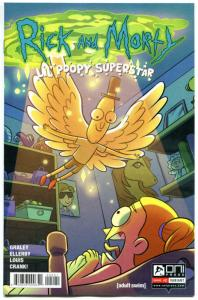RICK and MORTY LiL POOPY SUPERSTAR #2, VF/NM, Grandpa, from Cartoon 2016, Var