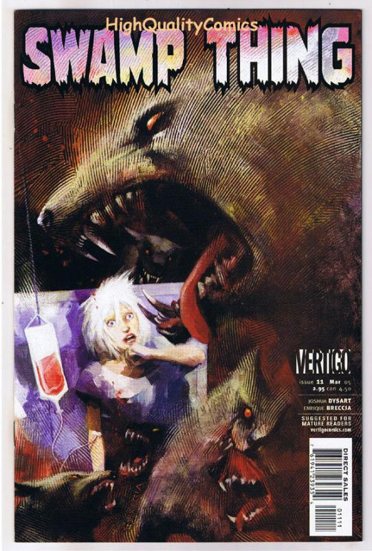SWAMP THING #11,  NM+, Vertigo, Love in Vain, 2004, Vertigo, more in store