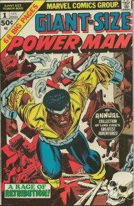 Giant Size Power Man #1 Luke Cage ORIGINAL Vintage 1975 Marvel Comics