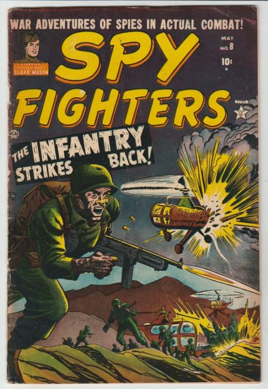 Spy Fighters #8 (May-52) VG/FN+ Mid-Grade Clark Mason