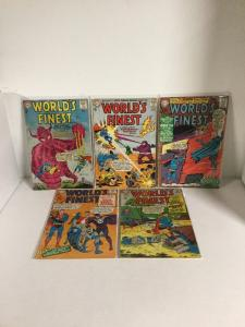 Worlds Finest 133 134 151 155 157 Gd-Vg Good-Very Good 2.0-4.0