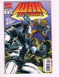 War Machine #2 VF Marvel Comics Comic Book Cable 1994 DE15