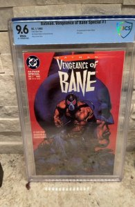 Batman Vengeance of Bane #1 CBCS 9.6 - 1st Appearance of Bane
