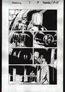 UNCANNY X-MEN #1-2012-ORIGINAL ART-PG 8-CHRIS BACHALO-MARVEL