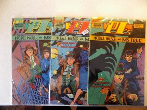 PI'S # 1-3 FIRST DETECTIVE COMPLETE SET VF/NM READ AD FOR SAVINGS