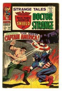 Strange Tales 159   Captain America cover & story   1st Val   Steranko