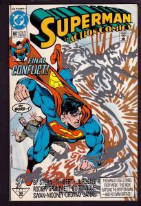 Action Comics #667    7.0 FN/VF