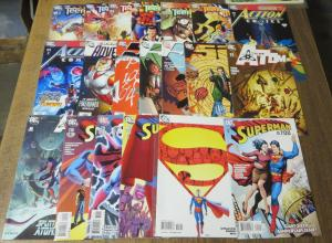 Eddy Barrows Collection#1!20 books:Superman! Teen Titans! Atom! 52! Action!F-VF+