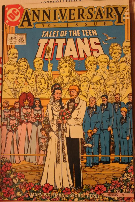 Tales of the Teen Titans 50  VF/NM