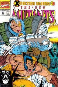 New Mutants (1983 series) #97, NM- (Stock photo)