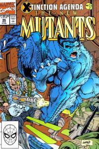 New Mutants (1983 series) #96, NM- (Stock photo)