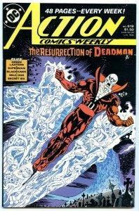 Action Comics Weekly 619 Sep 1988 NM- (9.2)