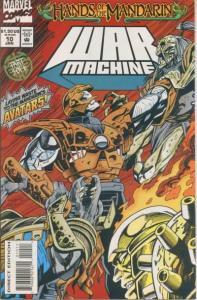 War Machine (1994 series) #10, NM (Stock photo)