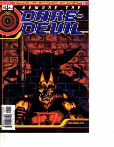 Lot Of 2 Marvel Comic Books Beware DareDevil #1 and Doom 2099 #1  MS17